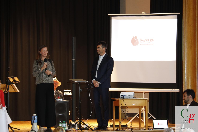 Elisa Ionni e Giorgio Zagami