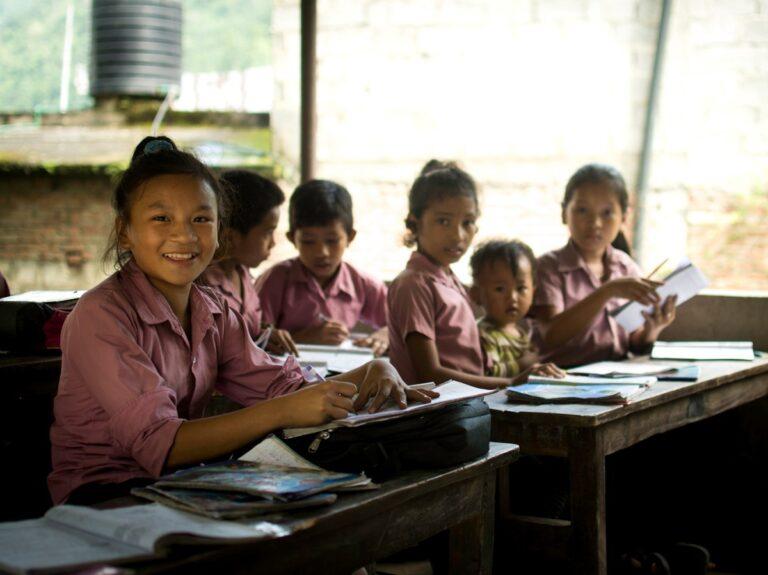 iritto all'istruzione dei bambini in cambogia